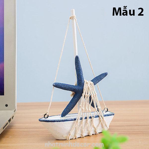 Mô hình con thuyền phong cách Santorini 3