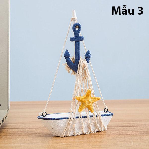 Mô hình con thuyền phong cách Santorini 9