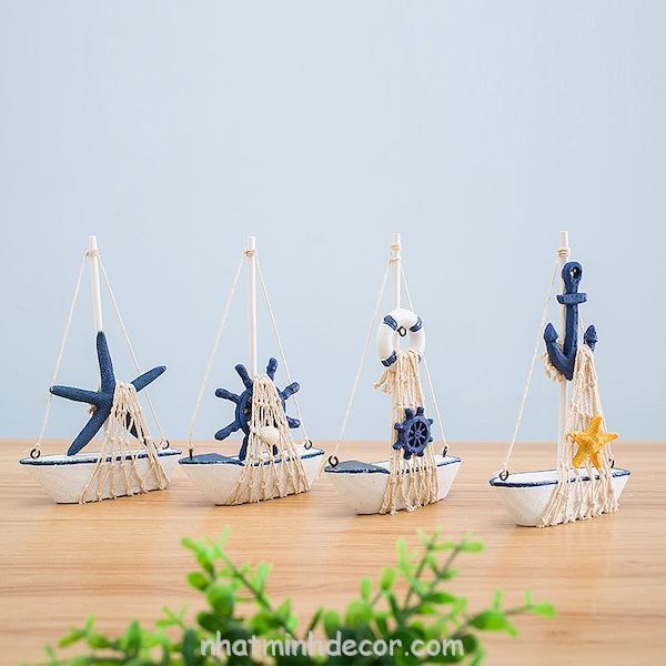 Mô hình con thuyền phong cách Santorini 1