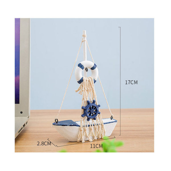 Mô hình con thuyền phong cách Santorini 6