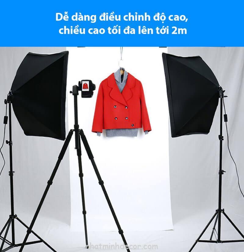 Đèn softbox chụp ảnh sản phẩm 1