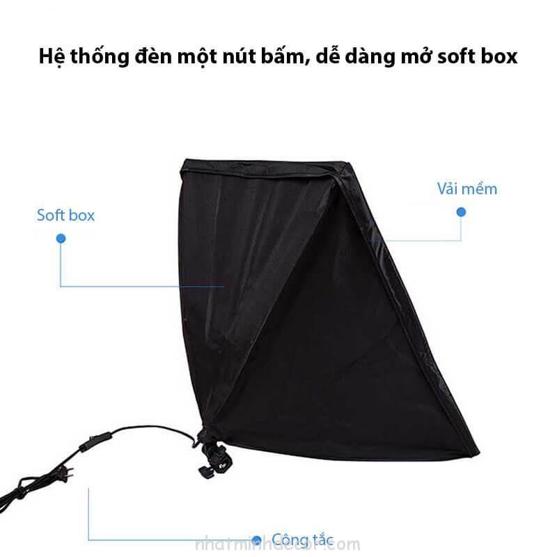Đèn softbox chụp ảnh sản phẩm 4