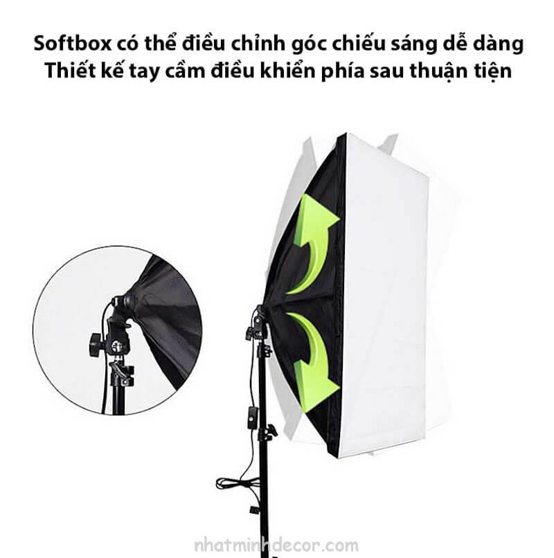 Đèn softbox chụp ảnh sản phẩm 3