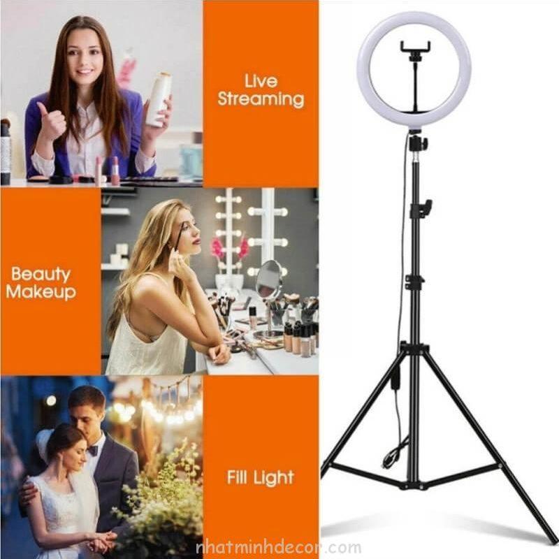 Đèn Led Ring tròn hỗ trợ chụp ảnh, livestream, quay video 26 CM 16