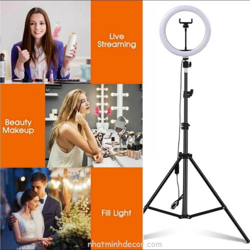 Đèn Led Ring tròn hỗ trợ chụp ảnh, livestream, quay video 26 CM 6