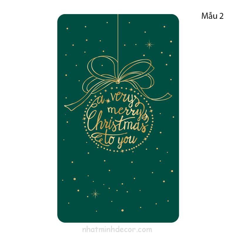 Thiệp chúc mừng Giáng Sinh 8