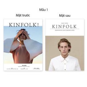 Bìa tạp chí 2 mặt Kinfolk 15