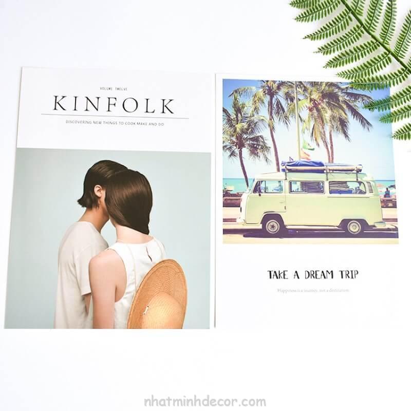 Bìa tạp chí 2 mặt Kinfolk 3