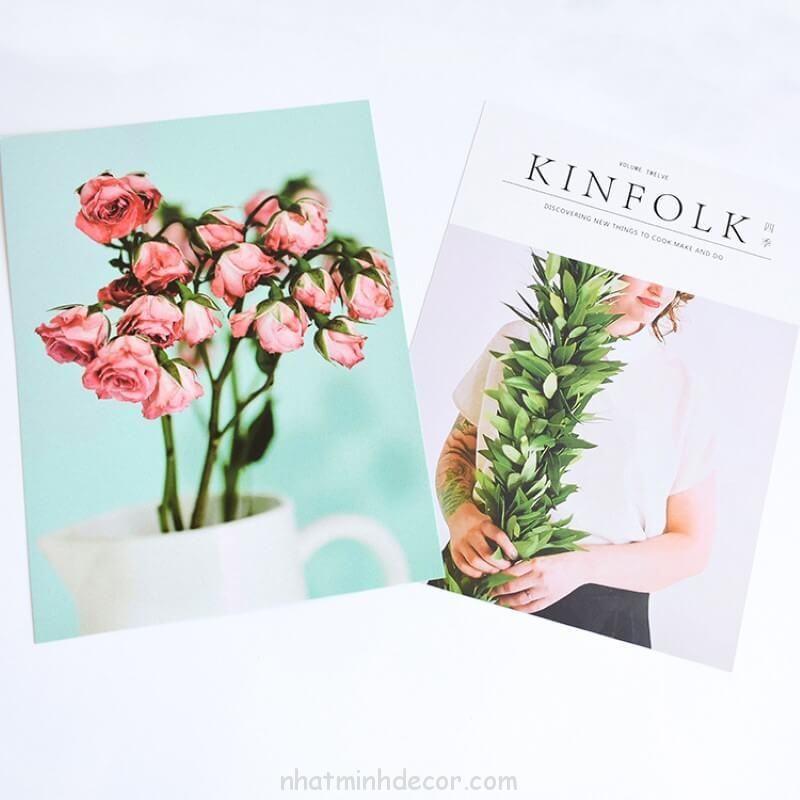 Bìa tạp chí 2 mặt Kinfolk 8