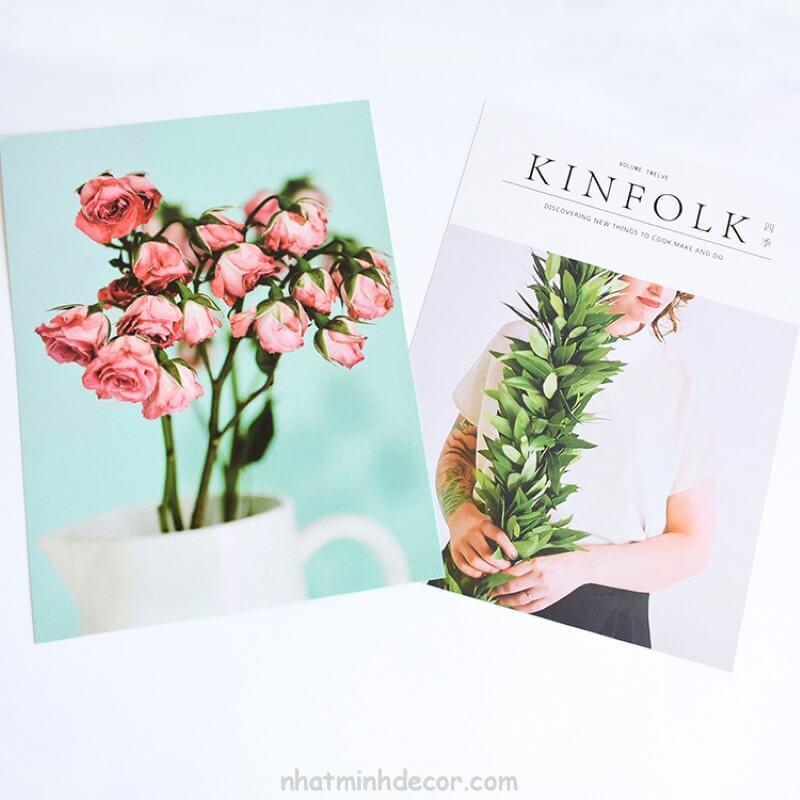 Bìa tạp chí 2 mặt Kinfolk 1