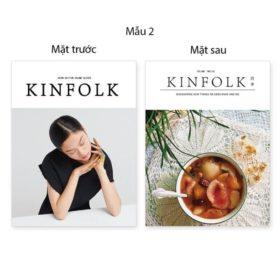 Bìa tạp chí 2 mặt Kinfolk 16