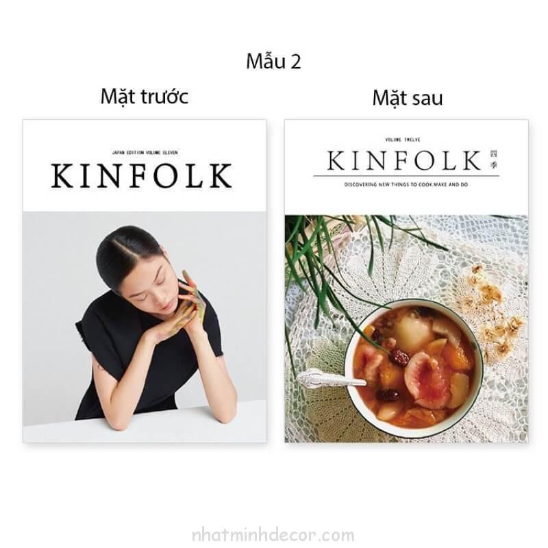 Bìa tạp chí 2 mặt Kinfolk 12