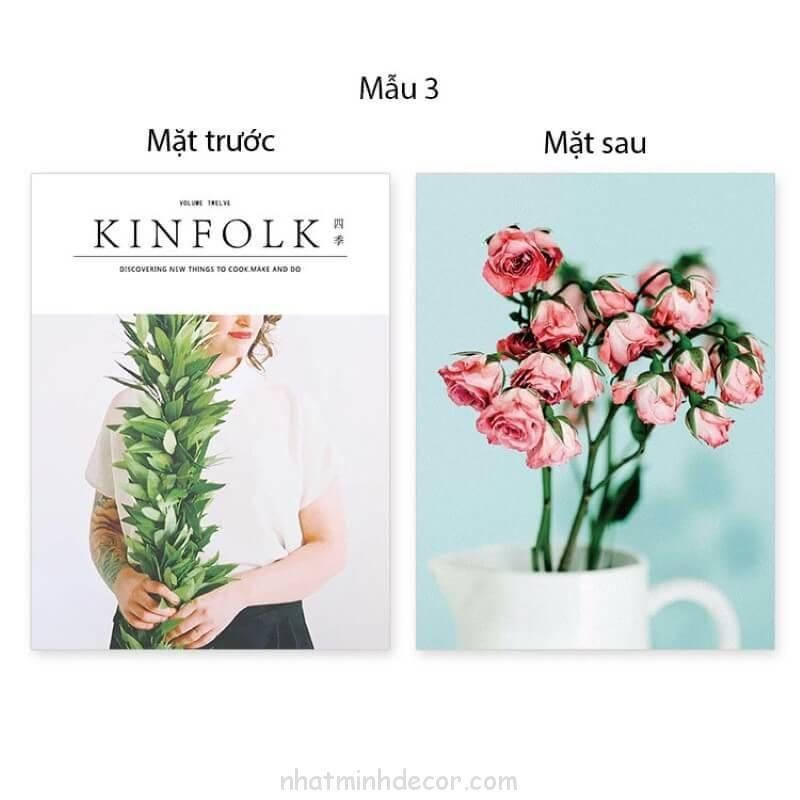 Bìa tạp chí 2 mặt Kinfolk 13