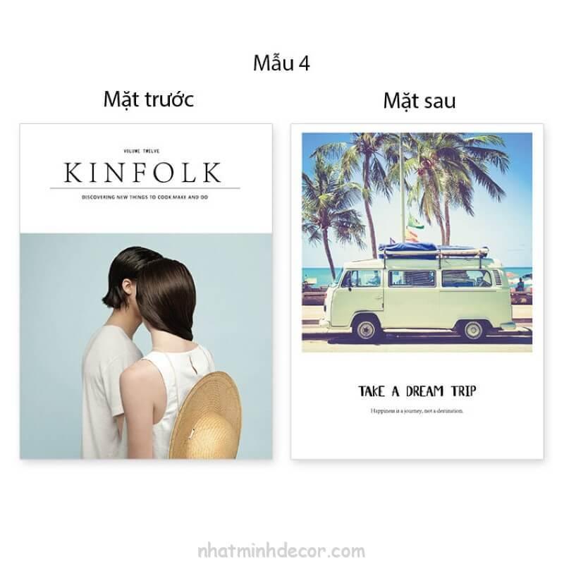 Bìa tạp chí 2 mặt Kinfolk 7