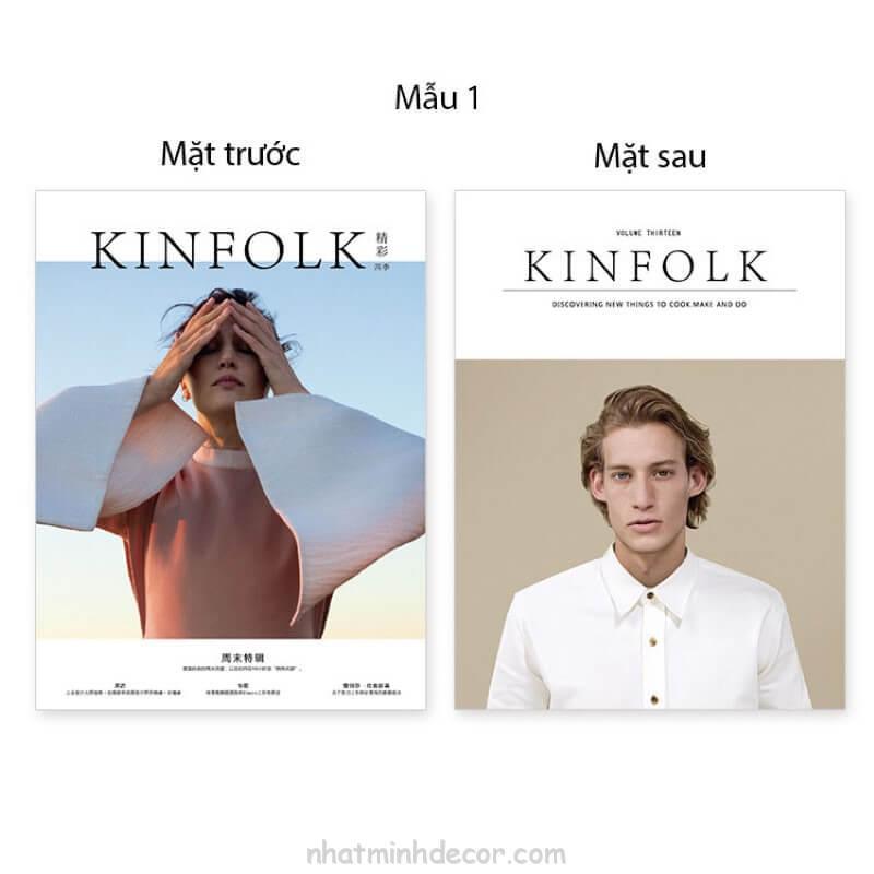 Bìa tạp chí 2 mặt Kinfolk 4