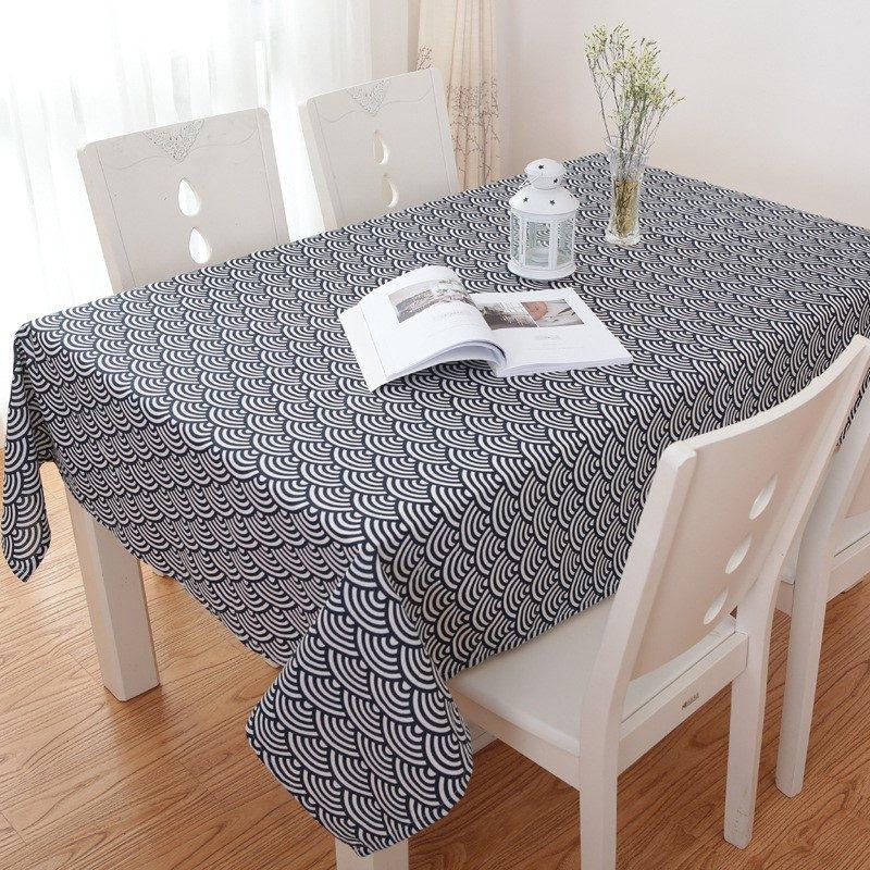 Khăn trải bàn caro, vải bố, vải canvas (10+ Mẫu) 18