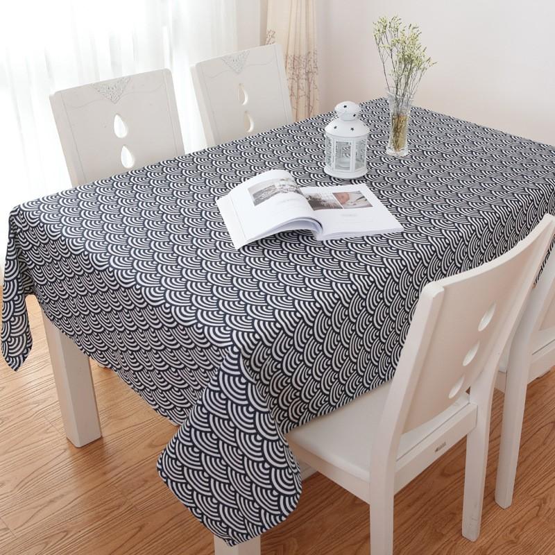 Khăn trải bàn caro, vải bố, vải canvas (10+ Mẫu) 9