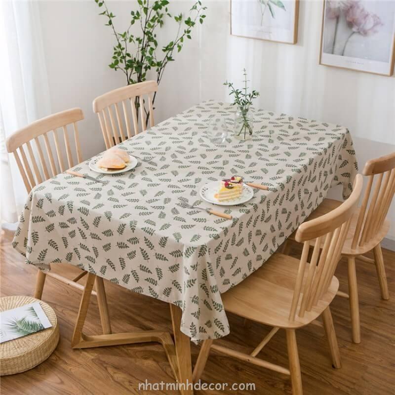 Khăn trải bàn caro, vải bố, vải canvas (10+ Mẫu) 12