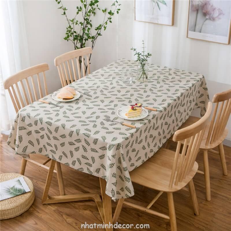 Khăn trải bàn caro, vải bố, vải canvas (10+ Mẫu) 3