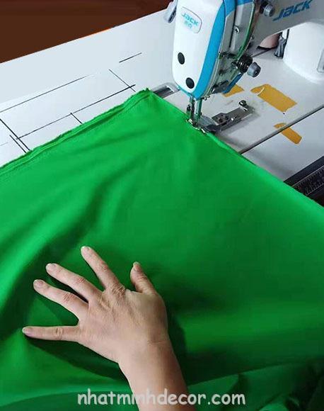 Phông vải quay phim xanh lá Cotton Muslin cao cấp 4