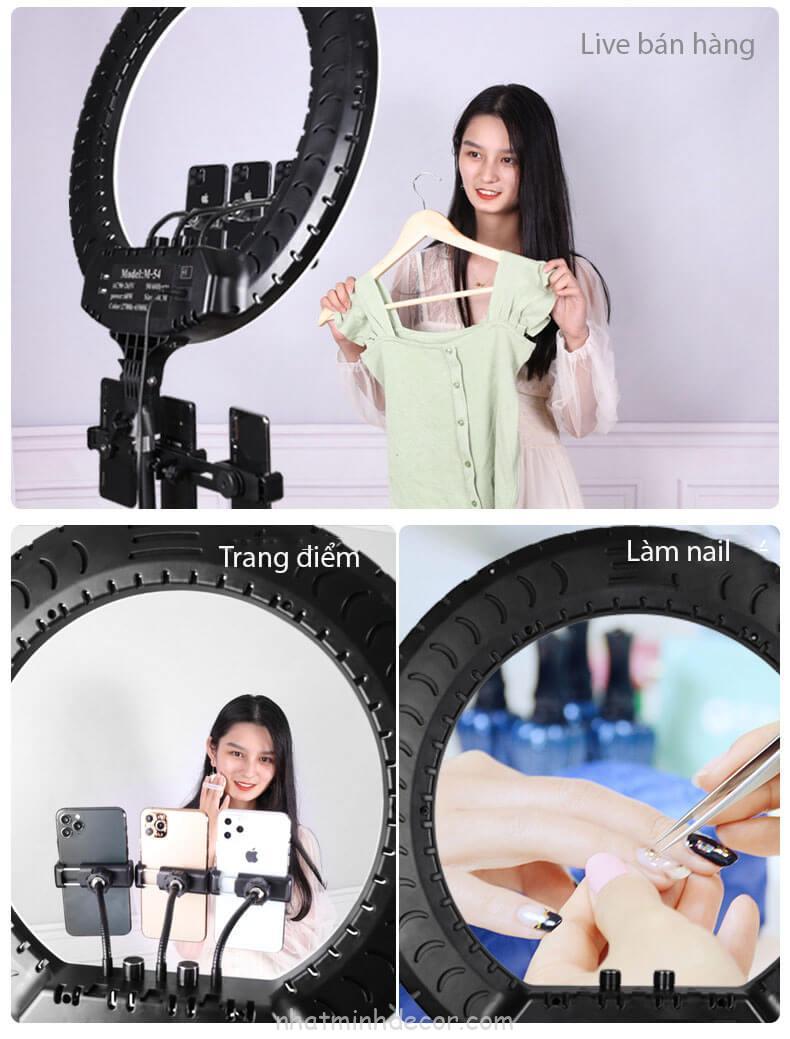den-led-ring-size-54cm-ho-tro-livestream-kep-3-dien-thoai-makeup-chup-hinh-studio-ban-hang-online-2